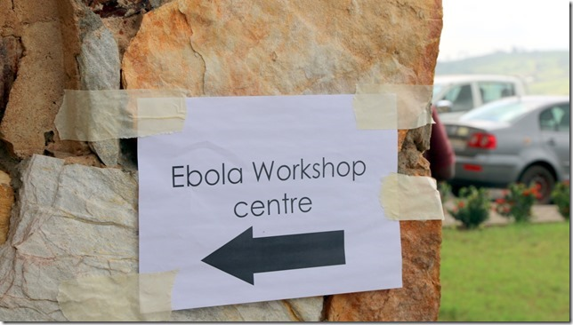Ebola Training Workshop