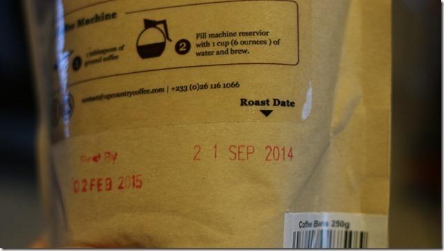 Roast Date
