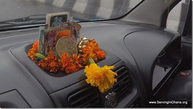 Taxi Shrine