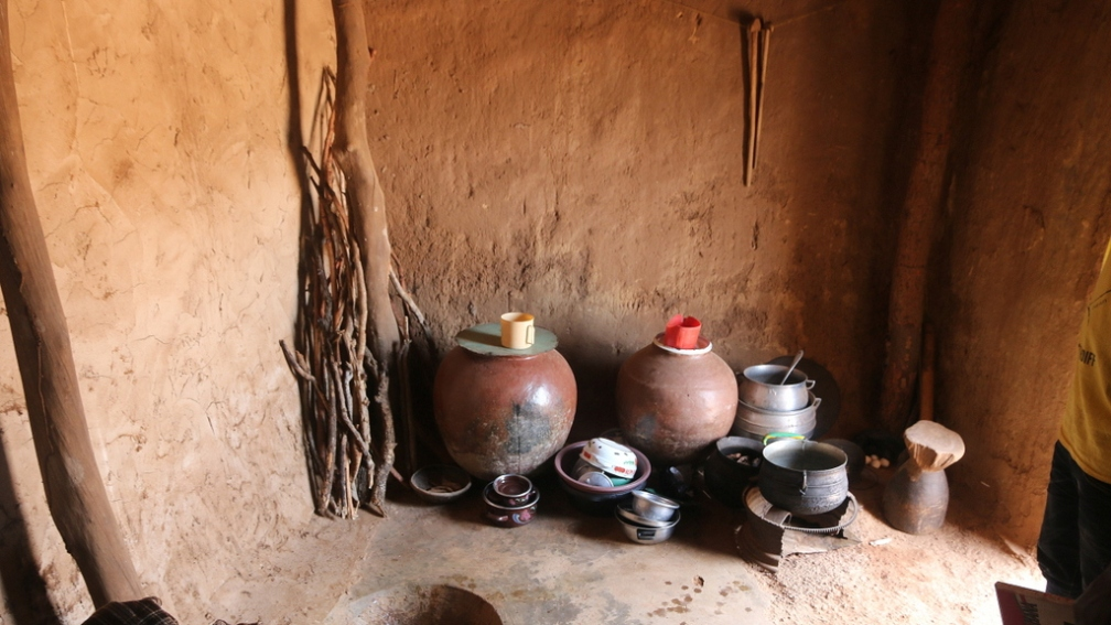 Traditional Northern Ghana Kitchen