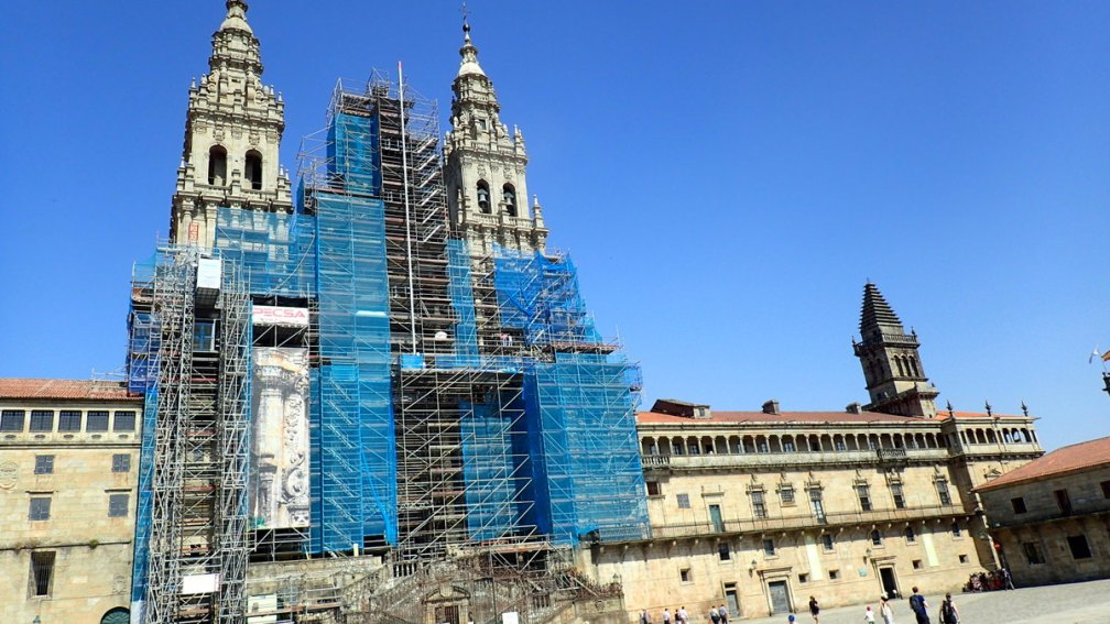 Restoration efforts to the Cathedral of Santiago
